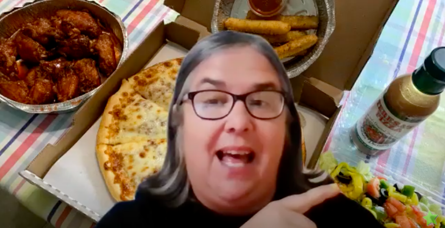 Jabbering With Julie Online 6-19-2020 – Winging It With Teresa's Pizza